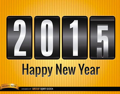 Free Vectors: New Year 2015 Backgrounds!