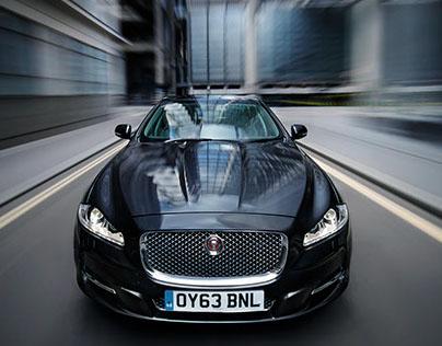 Jaguar XJ - City of London