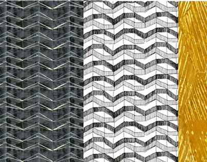 Woven material design