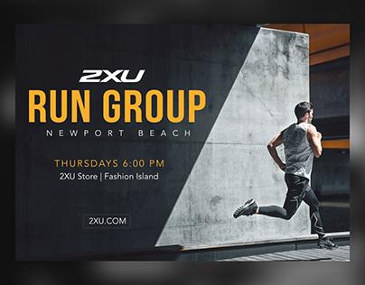 2XU Run Group Print
