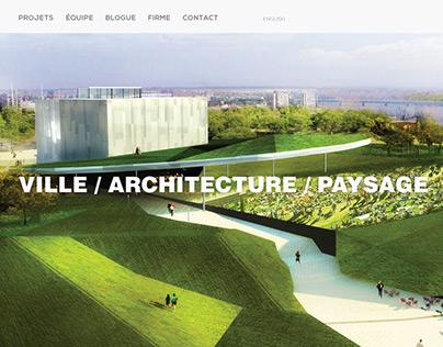 Atelier VAP: Ville/Architecture/Paysage