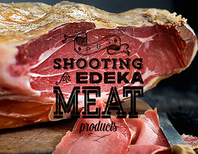 Food Photography for EDEKA // Meat products