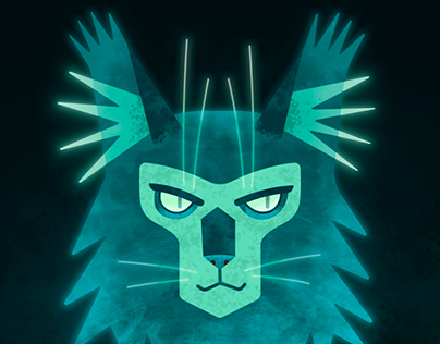 The Ghost Cat | Process