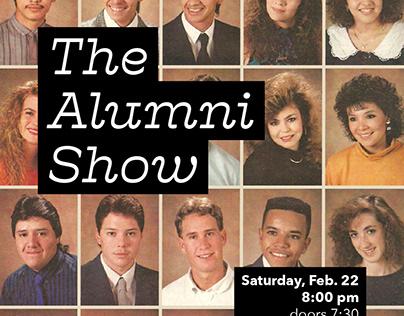 "College Improv Show Flyer | ""The Alumni Show"""