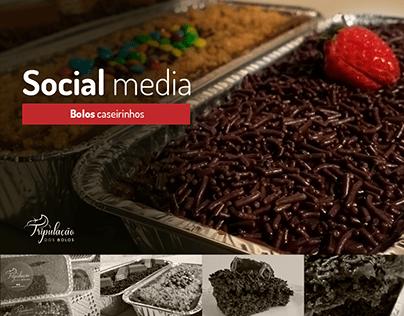 Design e Social Media   Bolos