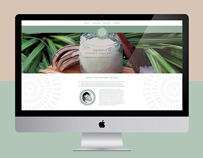 Spirited Away Massage Branding & Website