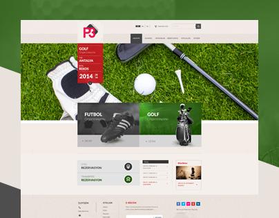 Golf-Web Design