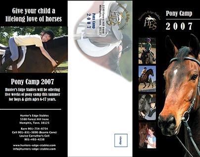 Hunter-Jumper Camp Brochure