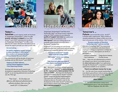 Trifold Brochure • TimpTech