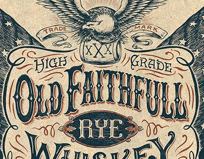 Vintage Americana graphics