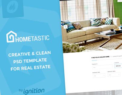 Hometastic - Real Estate PSD Template