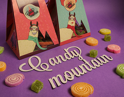 Candy Mountain Packaging.