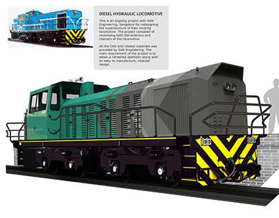 Diesel Hydraulic Locomotive Design
