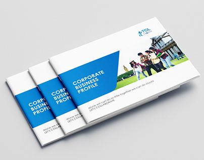 Landscape Brochure for TCL GLoabal