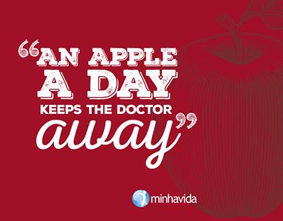 Postal An Apple a Day... @minhavida