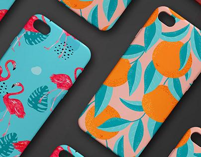 Mobile phone cases - Pattern design