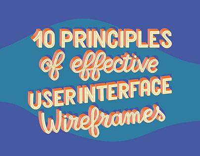 Ten Principles of Effective Wireframes Balsamiq