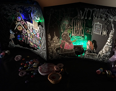 Hansel and Gretel Pop Up Book
