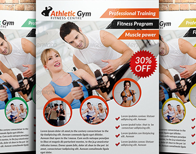 A4 Body Fitness Flyer