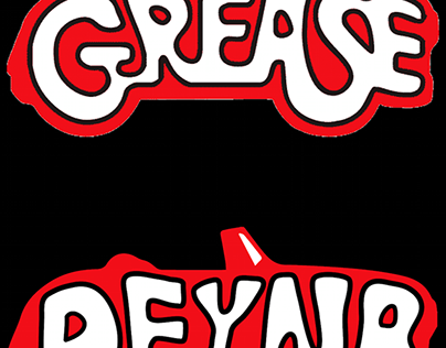 Grease Typhography