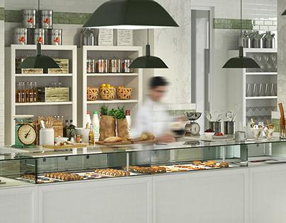 040 - Bakery - 3D Visualization