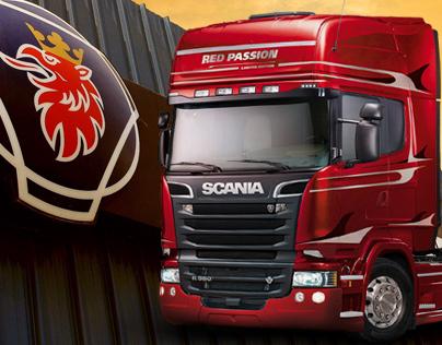 Scania e-commerce design