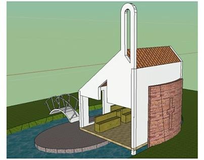 Diseño Oratorio - Casa Gabriela - Tenjo