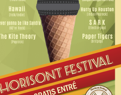 Horisont Festival 2014 - Poster