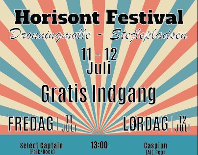 Horisont Festival 2014 - Flyer