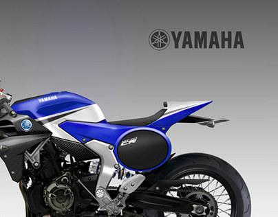 Yamaha Cafe Racer Concept Yamaha Mt-07 Cafe' Racer