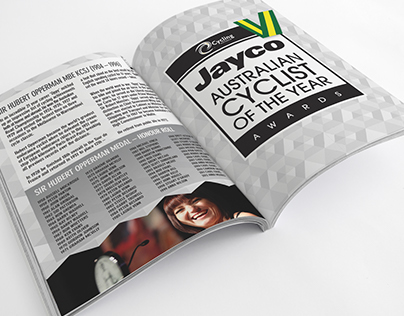 Jayco  Cyclist of the Year Awards Program and Microsite
