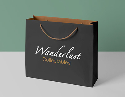 Branding & identity | Wanderlust Collectables