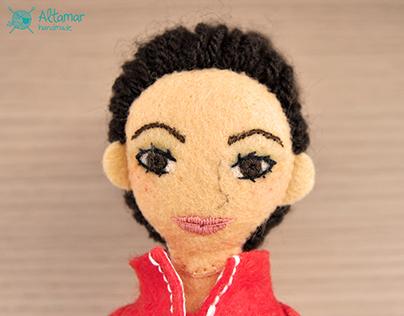 Soledad. Handmade Custom Doll