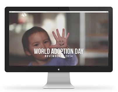 World Adoption Day : UX