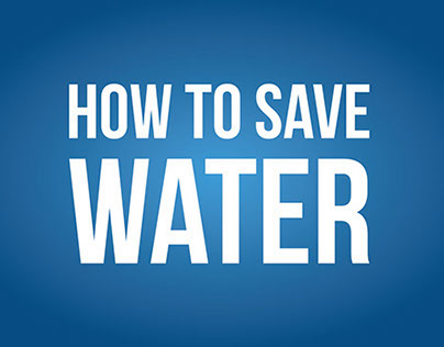 How To Save Water | Infografia