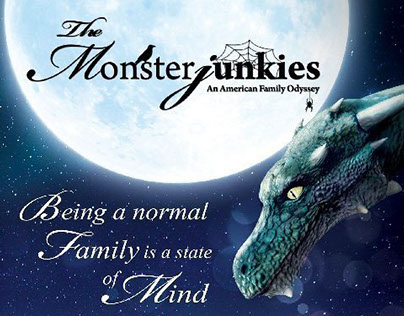 Movie title sequence for The Monsterjunkies