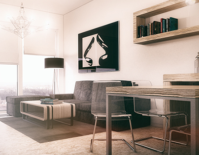 Small modern apartment 1