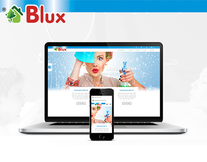 Blux Cosmetics Website