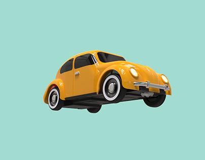 BEETLE 1967 - 3D Modeling
