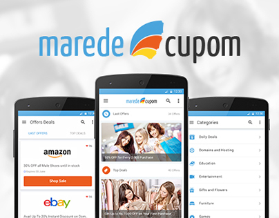 Marede Cupom I Android Application