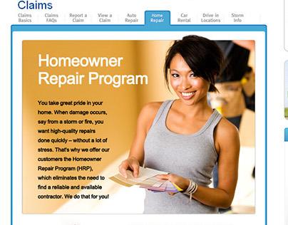 Repair Program Pages