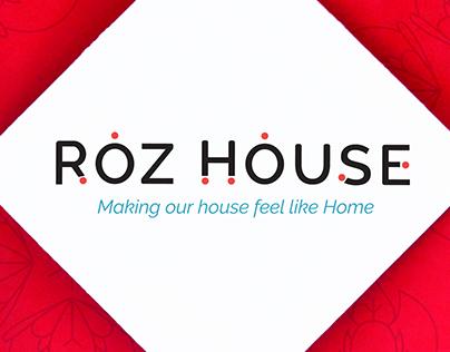 Roz House // Restaurant Branding