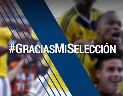 #GraciasMiSeleccion