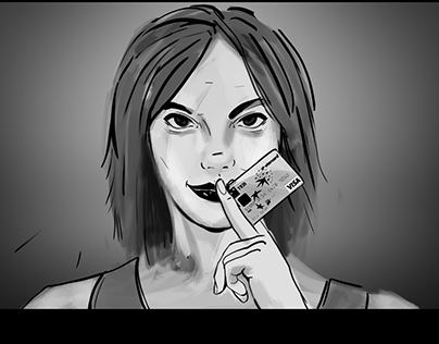 TEB Creditcard Commercial storyboard