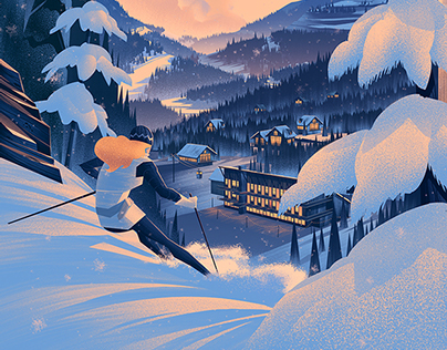Sugar Bowl Resort 75th Anniversary Poster