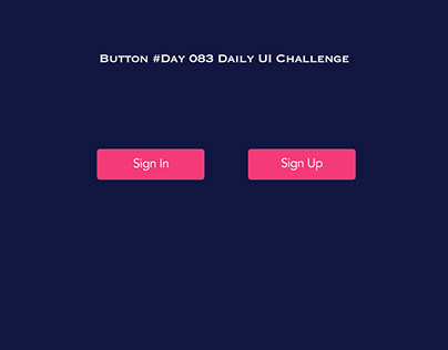 Day 083- Button - Daily UI challenge