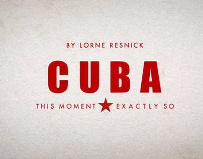 Cuba Parallax Sequence - This moment, Exactly So