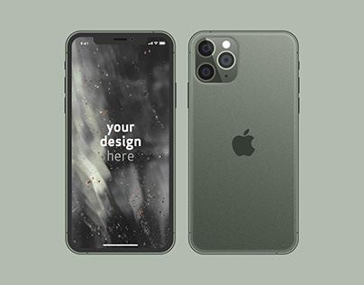 Mockup - iPhone 11 Pro (2019)