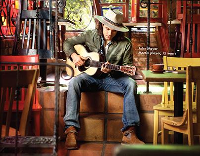 Martin Guitar Campaign