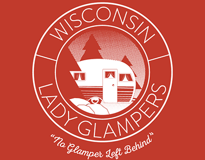 Wisconsin Lady Glampers Logo